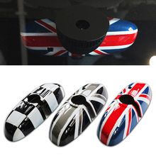 купить Car Rear View Mirrors Case Cover Sticker Decor Car-Styling For BMW MINI Cooper JCW S One+ F54 F55 F56 F60 Countryman Accessories онлайн