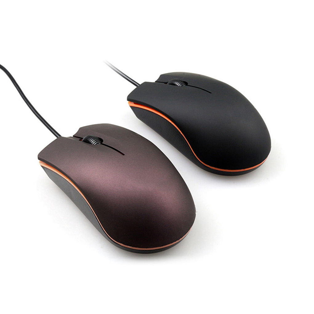 USB 2.0 Wired Mini Cute Gaming Mouse Office Desktop Optical Computer Laptop Anti-slip Mice