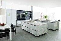 2017 кухонный шкаф по индивидуальному заказу Горячая продажа Современная Глянцевая белая Лаковая кухонная мебель L1606017