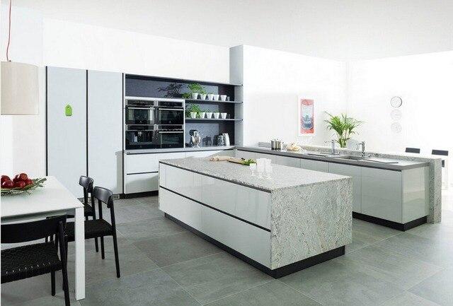 US $6500.0  2017 maßgeschneiderte küchenschränke heiße verkäufe moderne  hochglanz weiß lack küche möbel L1606017 in 2017 maßgeschneiderte ...