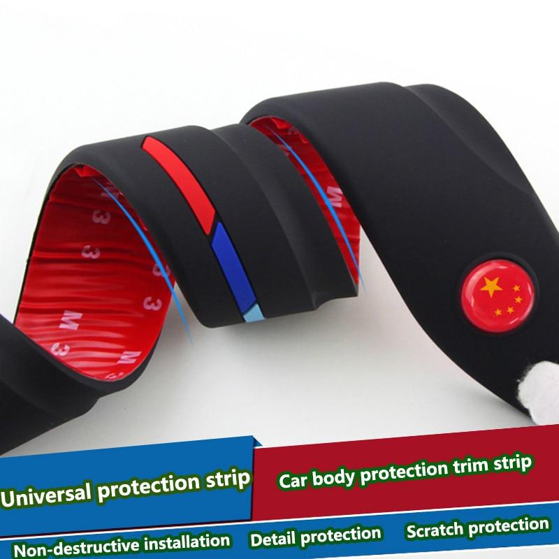 Car Body Protection Car Scratch Anti collision Decorative Strip Car Styling For Chrysler 300c 300 sebring