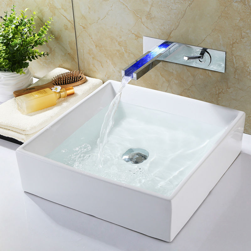 Bathroom Faucets With Lights compare prices on waterfall faucets led- online shopping/buy low