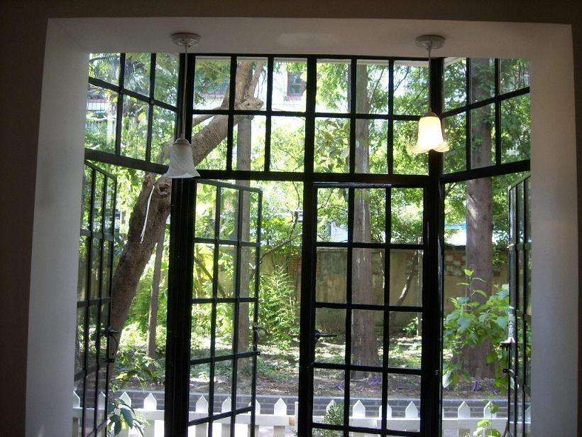 Custom Steel Doors  Iron French Doors Id-5