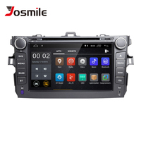 Josmile Double 2 Din Android 8.1 Car Multimedia DVD Player For Toyota Corolla 2007 2008 2009 2010 2011 GPS Navigation AutoRadio
