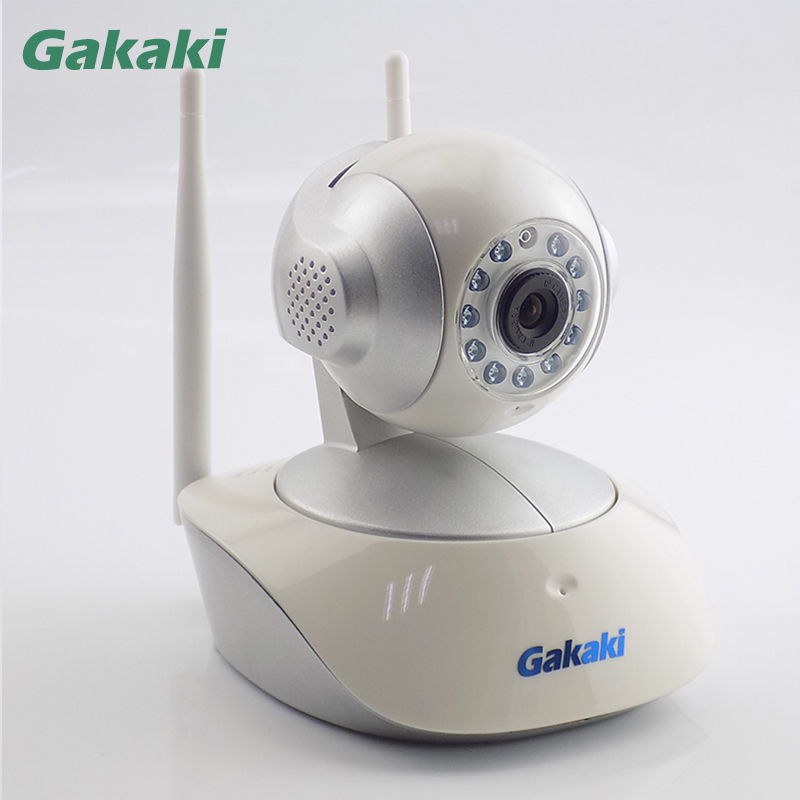 wifi network wireless ip camera remote home monitoring p2p video security surveillance in box Gakaki Wireless IP Camera Indoor Baby Monitor Smart Home Security Video Surveillance Network WiFi CCTV Camera Support TF Card