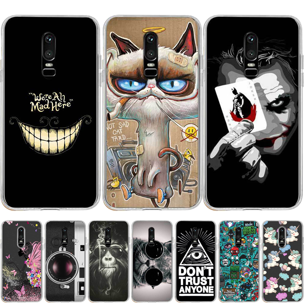 OnePlus 5 5T OnePlus 6 6T Silicone TPU soft case For One Plus 5 5T 6 6T Ultra thin Clear OnePlus 6 T Phone Protective Cover case