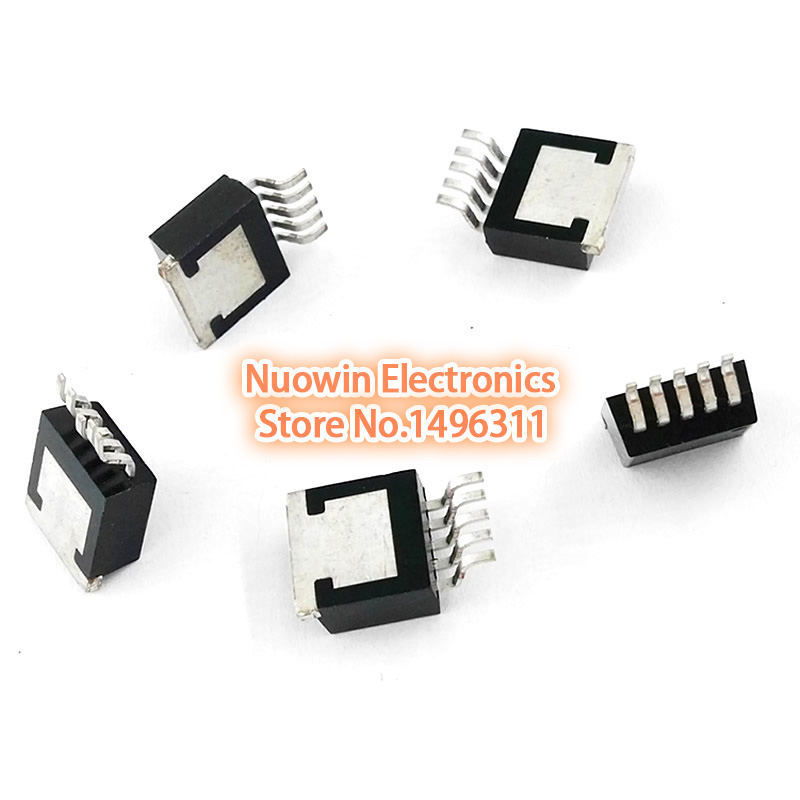 10pcs lm2576s-5.0 SIMPLE SWITCHER 3A Step-Down Voltage Regulator lm2576s 5.0