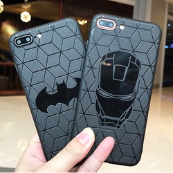 Marvel DC Comics Heros Collection Soft silicone cover for Case iphone x 10 xs max xr 6s 7 8 6 Plus Capinhas Batman Iroman Spider 1