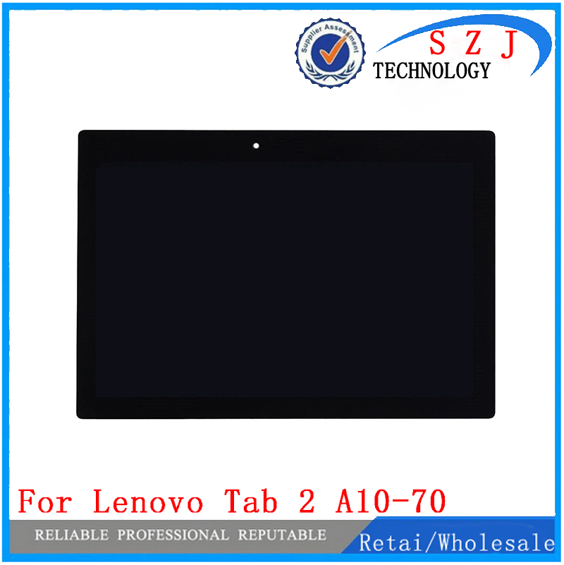 купить New 10.1 case For Lenovo Tab 2 A10-70 A10-70F A10-70L Full LCD Display With Touch Screen Sensor Digitizer Assembly Complete дешево