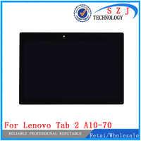 Nouveau 10.1 Pour Lenovo Tab 2 A10-70 A10-70F A10-70L Affichage LCD Complet Avec Écran Tactile Capteur Numériseur Assemblée Complète