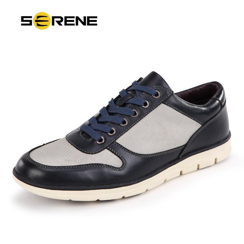 Click here to Buy Now!! Безмятежное бренд Для мужчин Повседневное обуви  плюс-Размер 39-46 Пояса из натуральной кожи Для мужчин Обувь модные удобные  ... ca8a5ebf1db