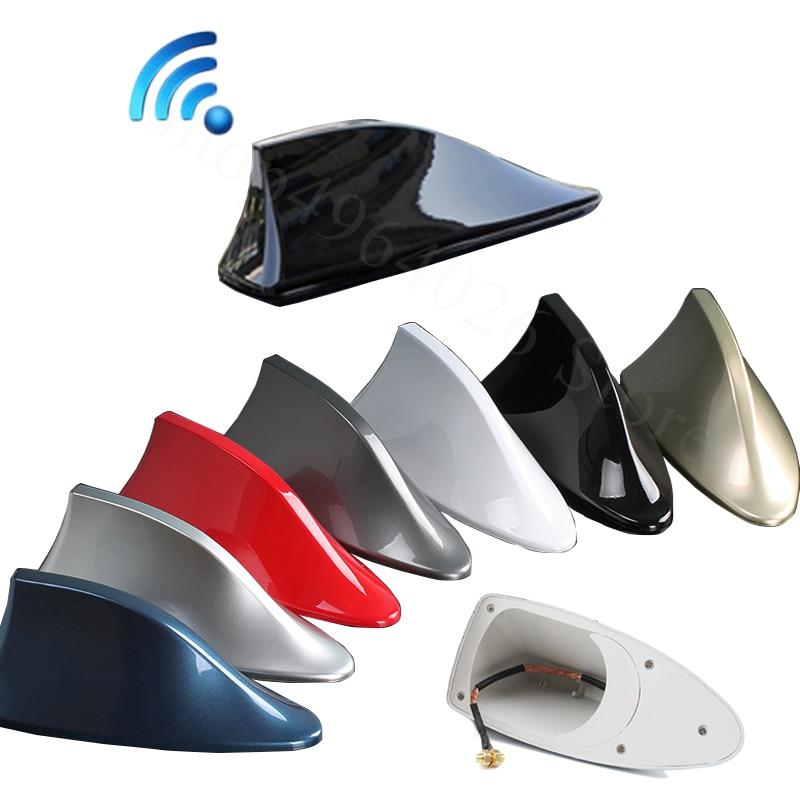 For Ssangyong rexton w Korando kyron c stavic sport kyron tivoli Car Signal Aerials Shark fin antenna Accessories Styling(China)