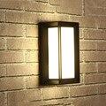 BEIAIDI 18 Вт современный светодиодный настенный светильник на поверхности для улицы  для крыльца  водонепроницаемый  для виллы  для прохода  дл...