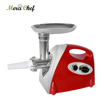 Купить с кэшбэком ITOP Electric Meat Grinder & Sausage Stuffer Household Mincing Machine 3 Cutting Plates 2KG/Min Kitchen Chopper Food Processors