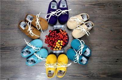 Frete grátis Primeiros Caminhantes Bebê sapatos de Couro Genuíno mocassins interior não-deslizamento Da Criança do Bebê lace-up bebe Sapatos