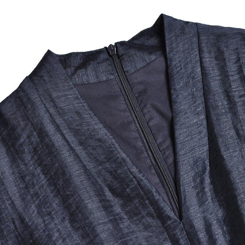 Bleu cou Ceintures Tops Costumes Élégant V Pantalon Piste B1028 Solide Printemps Femmes Large Mode Manches Jambe Ensemble Pièce Moitié Plein Royal 2018 2 Sexy Bfx7xqzwv