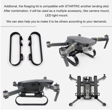 STARTRC DJI Mavic Pro Landing Skid Float kit For DJI Mavic pro platinum Drone Landing on Water Parts  Free shipping