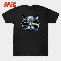 Cool Pink Floyd Cat Funny Design Rock Music Band T Shirt Men Short Sleeve 100 Cotton