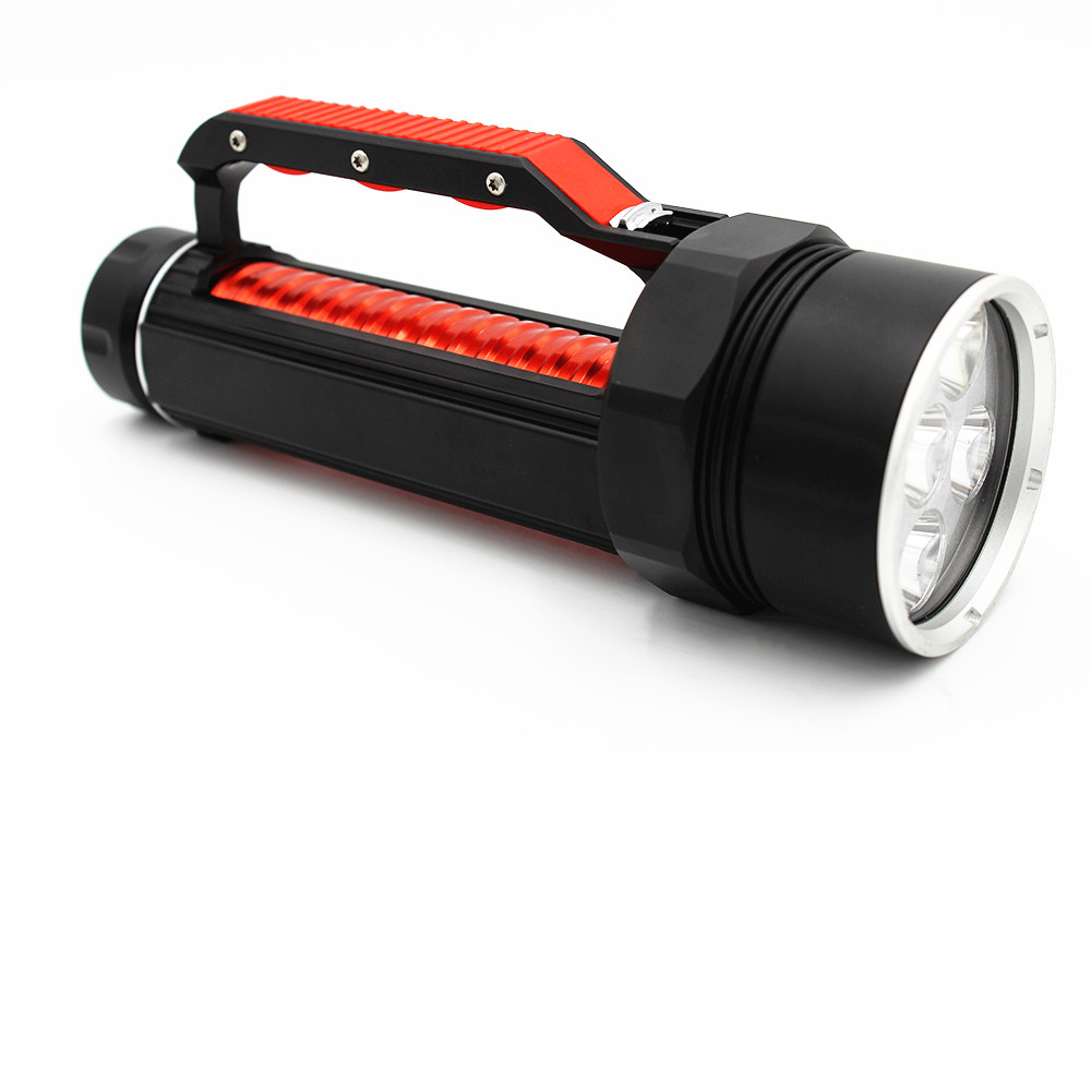 DL0049 6 CREE XM-L2 Diving flashlight (1)