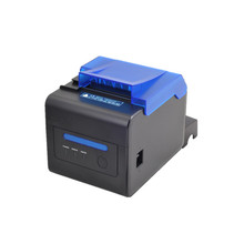 NEW thermal printer 58mm/80mm retail shop single buzzer alarm USB network port serial port POS cashier thermal receipt printer pos 80 printer thermal driver download with auto cutter usb and serial port hs e81us restaurant order printing slip printer