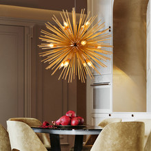 Dandelion LED Modern Chandelier Lighting Living Room Bedroom Artistic Decor Home Hanging Lamps Nordic Design Light Fixtures(China)