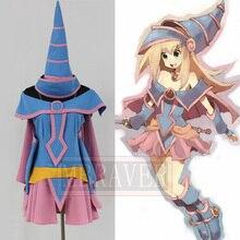 Yu-Gi-Oh! Yu Gi Oh Dark Magician Girl Cosplay Costume