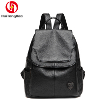 2019 Student Bag Outdoor Leisure Travel Ladies Anti-theft PU Leather Backpack Mini Backpacks for Women