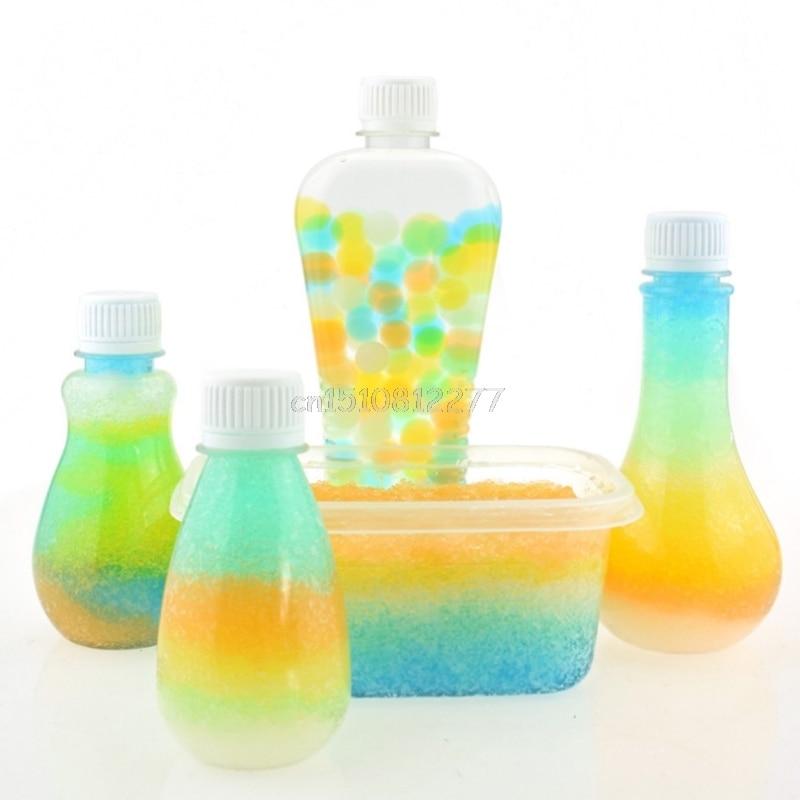80f21f286 De cristal colorida suelo barro agua planta flor jalea de Gel hidro perlas  bolas 1 Paquete # H0VH # envío de la gota en Suelo de cristal de Hogar y  Jardín ...