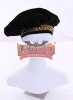 adult Renaissance Medieval Tudor Elizabethan black floppy poet muffin hat costume headhear