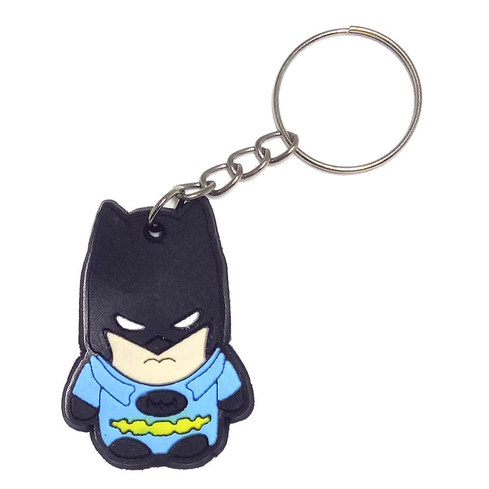 SUTI Vingadores Capitão América Homem Aranha Batman Anel Chave Keychain Japonês anime Titular Chaveiro Chave Saco Cadeia Pingente de Jóias