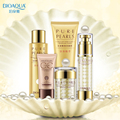 BIOAQUA Face Care Pearl Extracts Moisturizing Whitening Nourishing Hydrating, Shrink Pores, Anti Dry Dull Beauty Skin Care Set