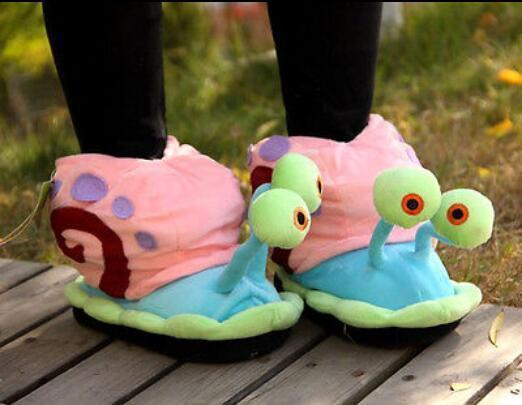 HOT Women Series Snail Ankle Boots Home Warm Soft Plush Flats Pull On US Full Size M L