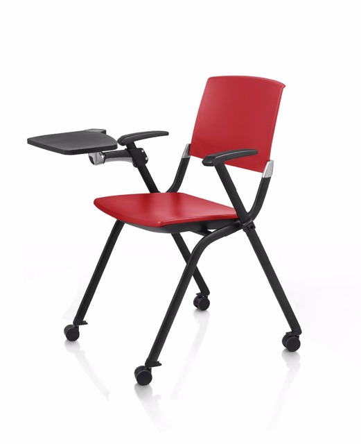 Conference Chair Commercial Furniture Office Furniture Folding Training  Chair With Board Office Chair Swivel Chairs Hot