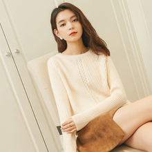adohon 2018 winter Cashmere sweaters auntmun women knitted Pullovers Warm Female