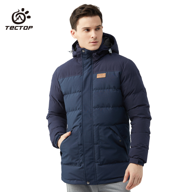 New Winter Long Thick Coats Outdoor Hooded UltraLight 90% Wihite Duck Down Jacket Warm Camping Hiking Riding Ski Jacket Men thick warm long 90