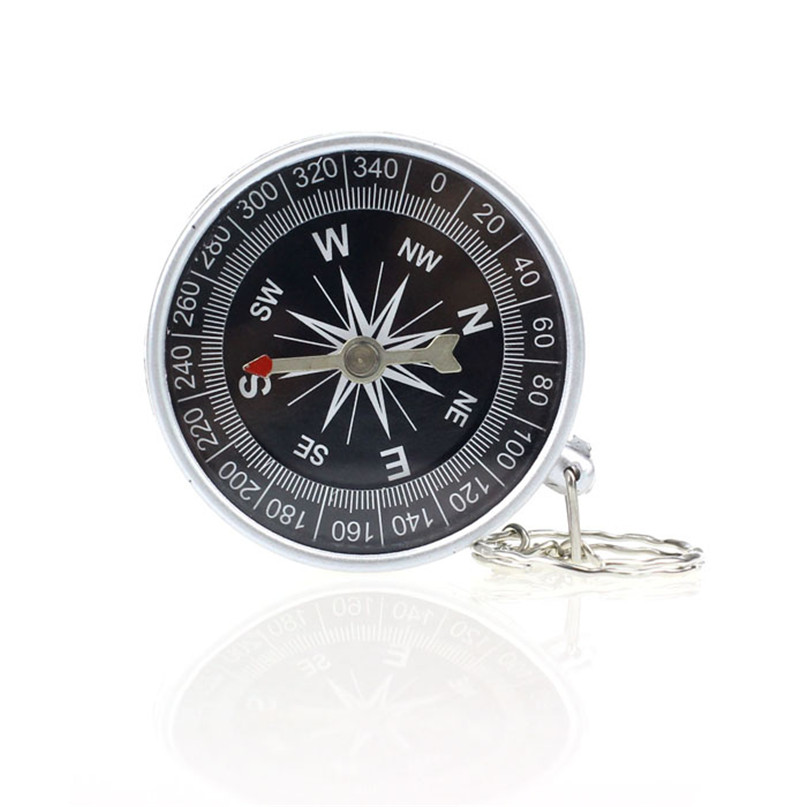 key rings keychain outdoor camping plastic compass hiking. Black Bedroom Furniture Sets. Home Design Ideas