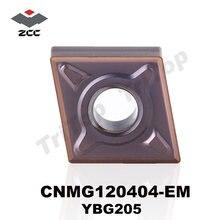 Бесплатная доставка вставки zcc cnmg 120404  em ybg205 из карбида