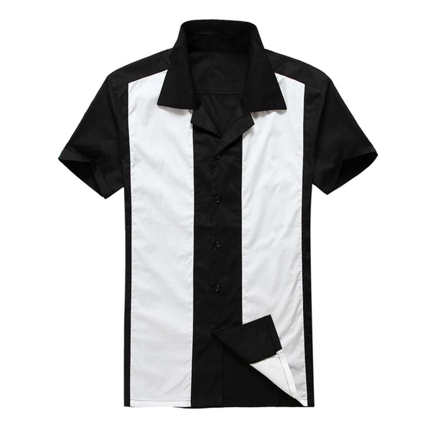 2019 Butoni i ri me mëngë të shkurtër të veshur me stil pambuku - Veshje për meshkuj - Foto 1