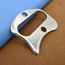 New Stainless Steel Gua Sha Board Acupuncture Scraping Gua Sha Massage Tool  Body Guasha Board Massager Tool все цены