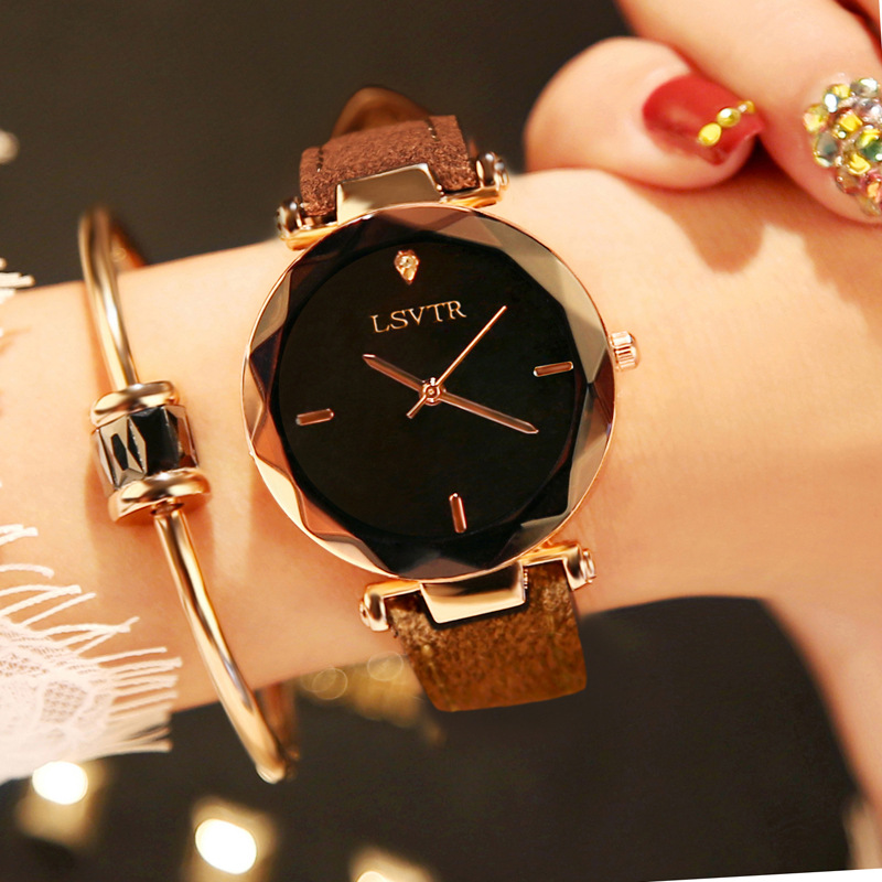 Self-Conscious Drop Shipping Women Lady Dress Watch Stainless Steel Mesh Band Wrist Watch Bracelets Watches
