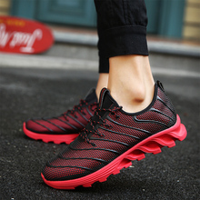 2017 Sport Men Shoes PU Leather Lace Up Air Walking Jogging Shoes Male Mixed Color Trainers Superstar Basket Zapatillas Hombred