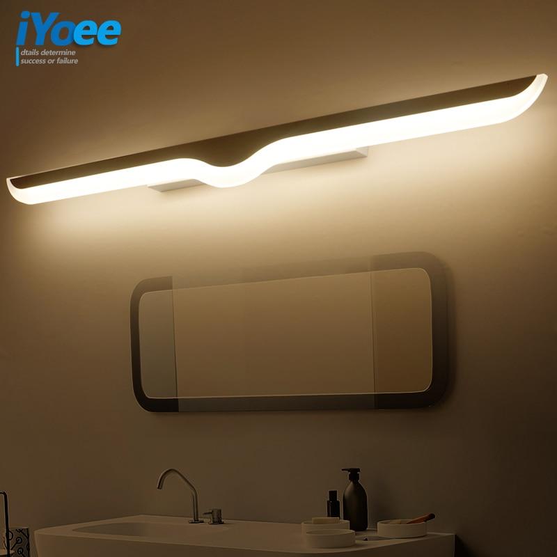 Lights & Lighting Led Lamps Modern Led Vanity Mirror Lights 0.4m~1.2m Wall Lamp Bathroom Bedroom Headboard Wall Sconce Lampe Deco Anti-fog Espelho Banheiro Good For Energy And The Spleen