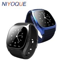 NIYOQUE M26 Montre Smart Watch Sport bande À Puce Bluetooth Bracelet Avec Cadran Appel Anti-perdu pour IOS Android Téléphone Bluetooth Smartwatch