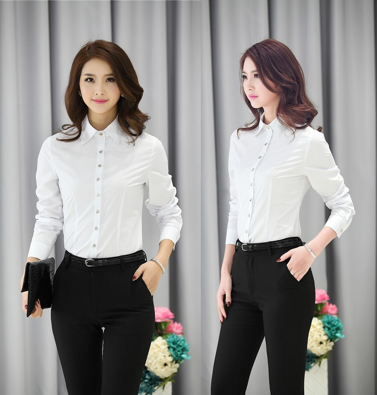 uniform style business women pantsuits tops and pants