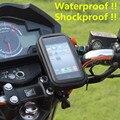 Мотоцикл Телефон Владельца Мобильного Телефона Стенд поддержка iPhone 4 5S 6 Плюс GPS Велосипед Держатель с Водонепроницаемая Сумка soporte movil moto