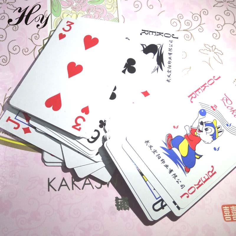 Bermain Kartu Tahan Air Kartu Boardgame Poker Set Kartu Cartas De Anime Poker Baralho Cartas Jouer Aux Cartes Speelkaarten