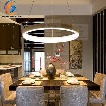 CHARLESLIGHTING Modern Restaurant Pendant Lights Minimalist LED Hand Lamp Dining room Pendant Lamps Indoor Decoration Home Light
