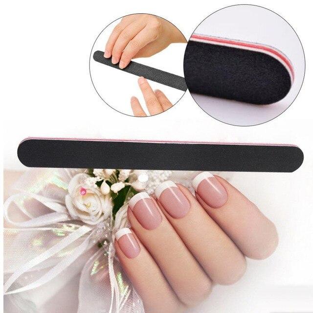 Nail Art Nagelvijlen Schuurpapier Manicure Polijstmachine Manicure