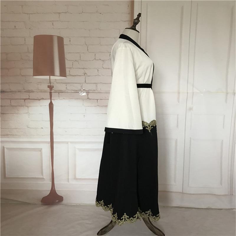 Muslimanski kardigan Abaya haljina Turska ženska odjeća duga - Nacionalna odjeća - Foto 3