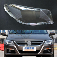 For Volkswagen VW Passat CC 2009 2010 2011 2012 Transparent Car Headlight Headlamp Clear Lens Auto Shell Cover
